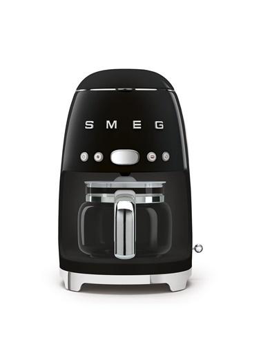 Smeg DCF02BLEU Retro Siyah 1.4 Litre 10 Bardak Filtre Kahve Makinesi Siyah